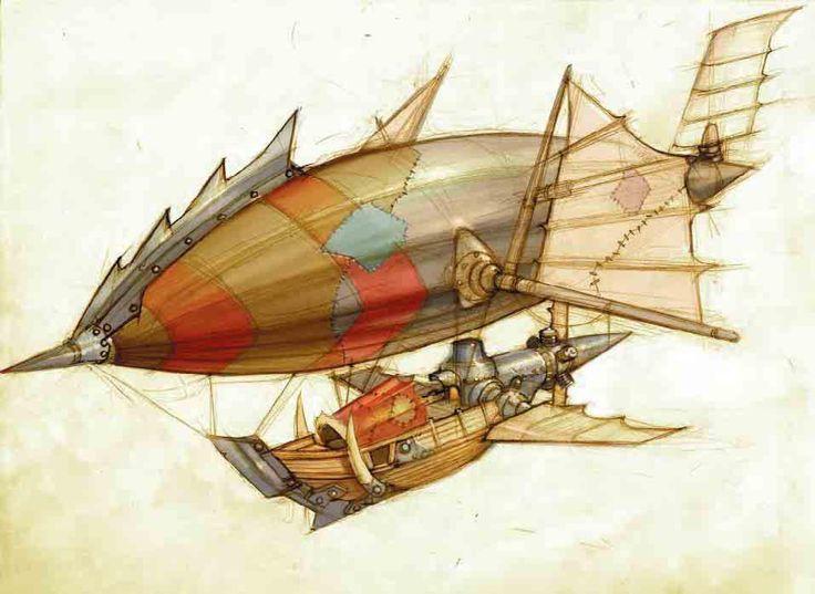 zeppelin - Cool Drawing