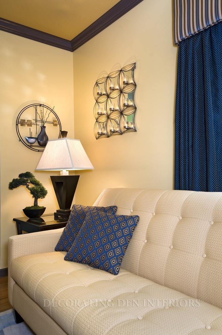 Room designed by Sharon Hibbard