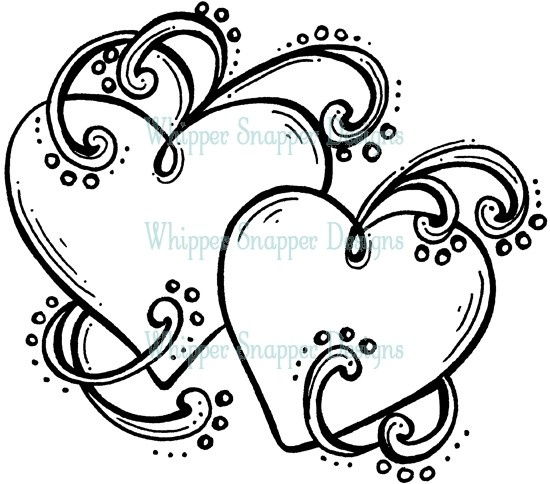 hearts amp swirls kinda like this one coloring pages amp cool designs