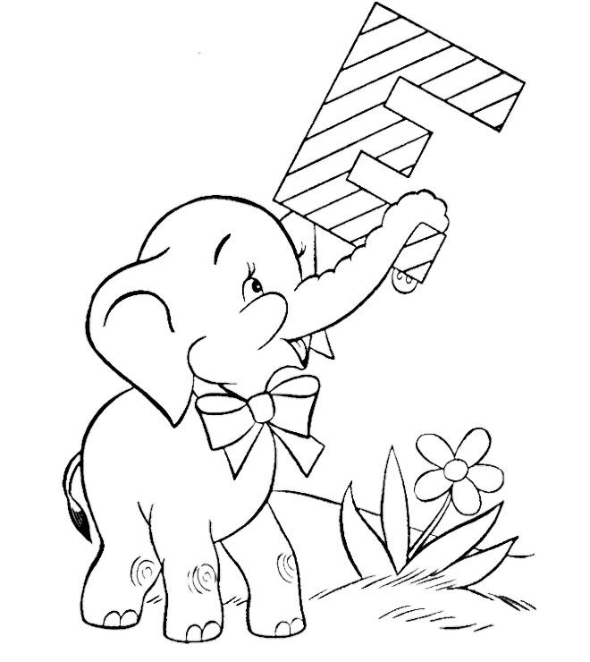 for baby elephant coloring pages kids coloring pages pinterest