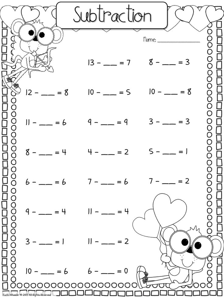New 159 First Grade Math Worksheets Fill Missing Numbers