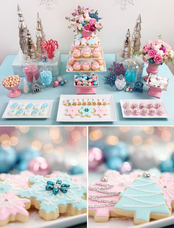 Shabby Chic Christmas Sweet Southern Blue