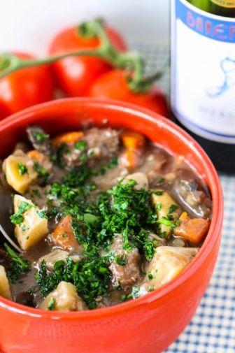 Beef Stew with Merlot