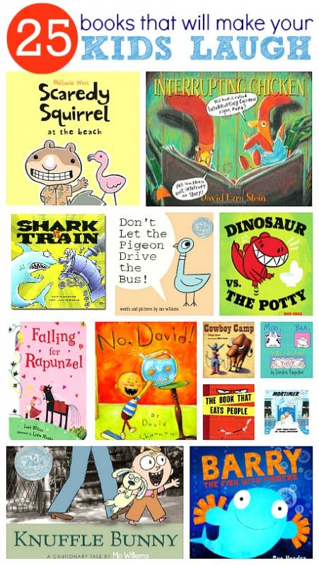 25 Funny Books For Kids