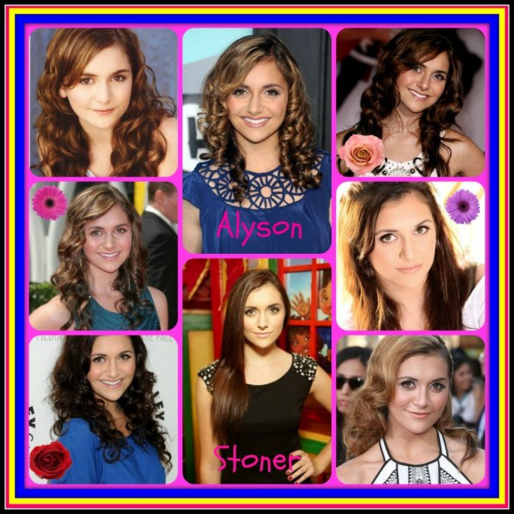 I made this graphic of Alyson Stoner!!!! :)