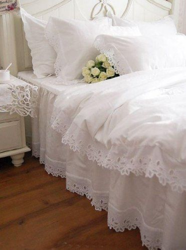 Sweet, Shabby Chic Bedding~❥