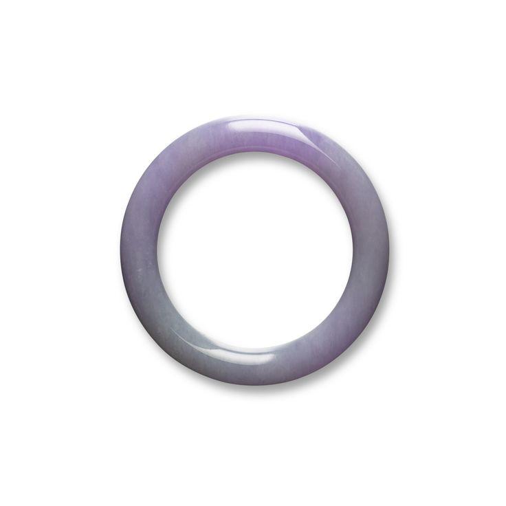 Lavender Jadeite Bangle | Lot | Sotheby's