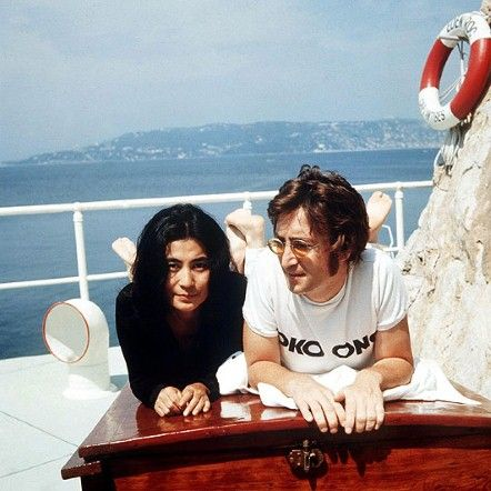 Yoko and John <3