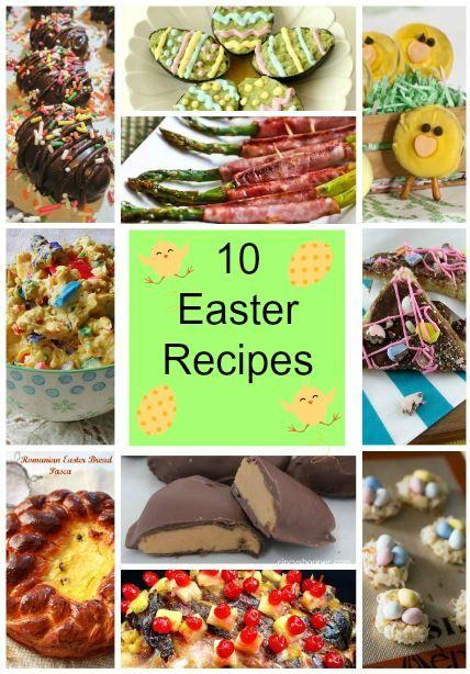 10 Delicious Easter Recipes #Easter #Recipes #EasterRecipes