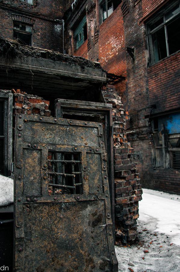Door to nowhere, St. Petersburg, Russia.