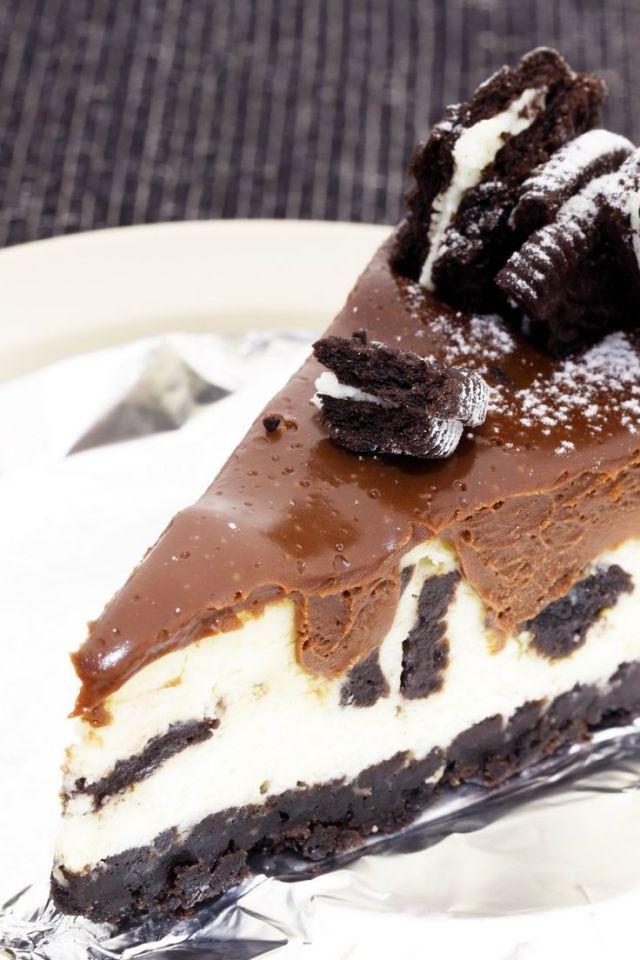 Chocolate Cookie Cheesecake Recipe