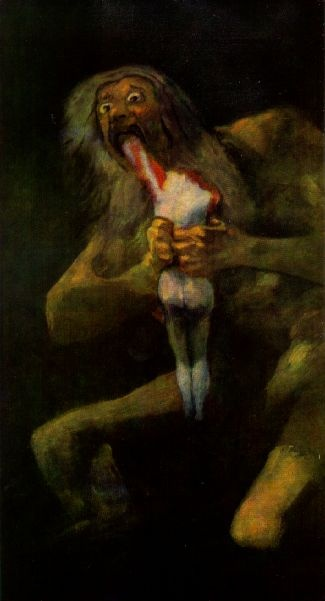 the cronus complex and goya s paintings Art arthur's work is his own and does not necessarily reflect my views   commentary: this is based on francisco de goya's saturn devouring his son)   personally, i think arthur is sitting on of a pile of amazingly complex, rich,   rubens' painting of the same name, based upon the greek myth of cronus.