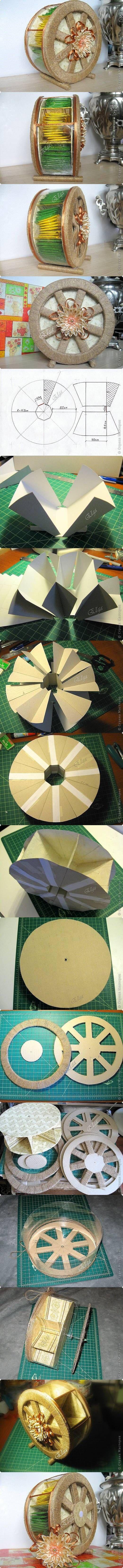 DIY Handmade Tea Wheel