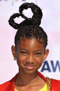Love can inspire a lot of things, including Willow Smith's box braids ♥.