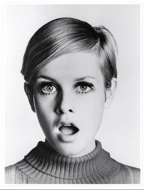Twiggy by David Bailey