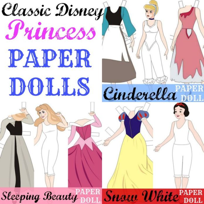 Imprimibles de Princesas Disney Gratis