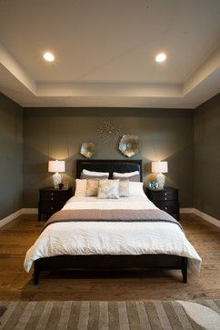 Symmetrical bedroom