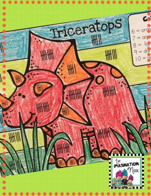 color by number the kids will love working on math with this