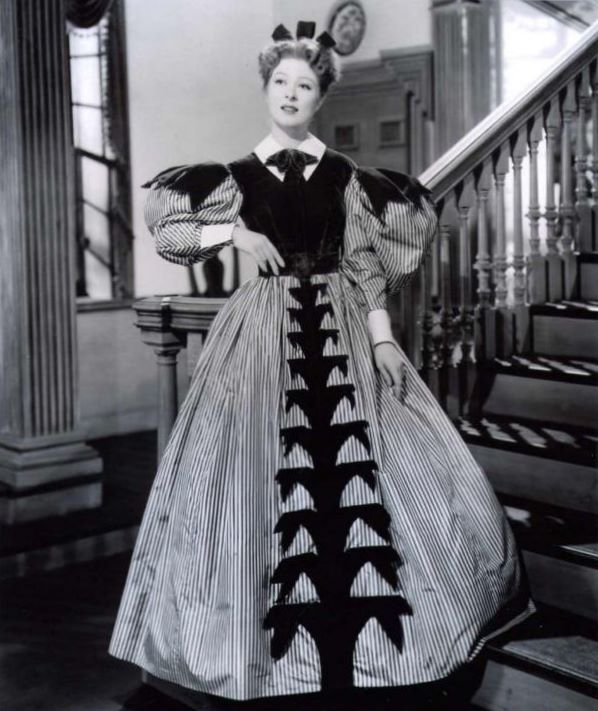 Greer Garson (as Elizabeth Bennet, Pride and Prejudice 1940)