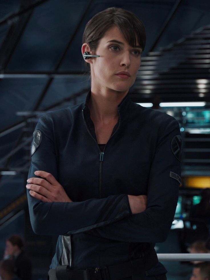 agent maria hill captain america 2 photos | alias es agent hill appeared in the avengers captain america the ...