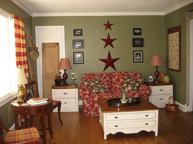 Living Room By Wren's Nest Cottage,