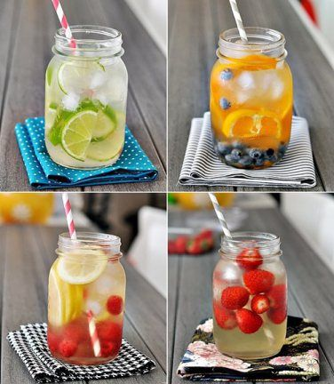 Make Your Own Fruit Infused Water | Toned & Fit