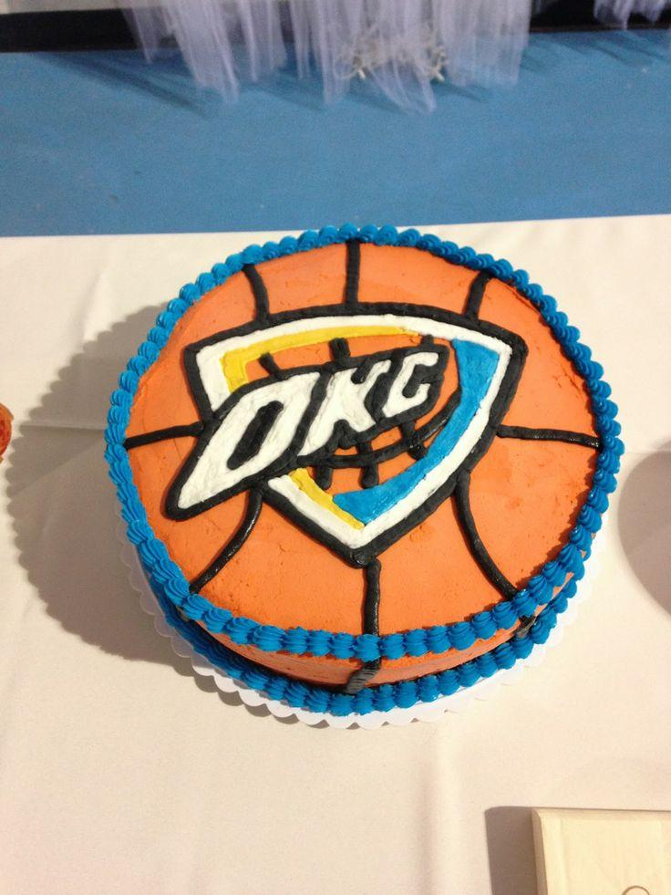 Okc Thunder Cake Cake Ideas And Designs