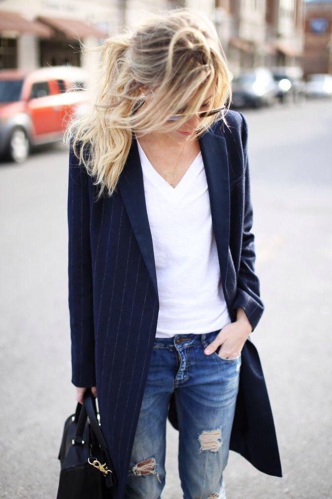 long coat casual