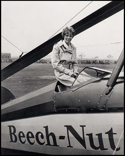 Amelia <b>Earhart</b> <b>and her</b> <b>airplane</b>. | Amazing Amelia | Pinterest