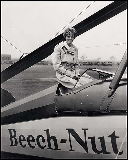 Amelia <b>Earhart</b> <b>and her</b> <b>airplane</b>. | Amazing Amelia | Pinterest