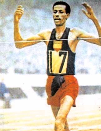 Real inspiration, Abebe Bikila