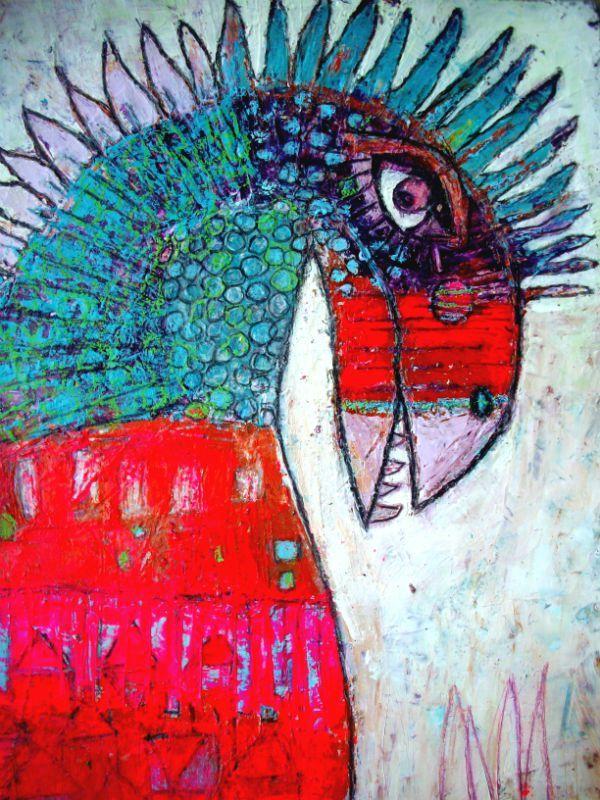 Elke Trittle.  http://artdelafibrite.canalblog.com/