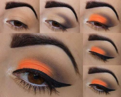 Gorgeous Orange Makeup Tutorial
