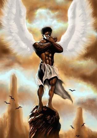 ANGEL OF MEDITATION-DION POLLARD