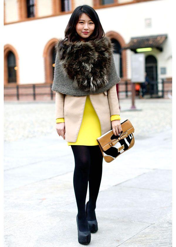 Street fashion: the best of (faux) furs / Tendance: la fausse fourrure en beauté
