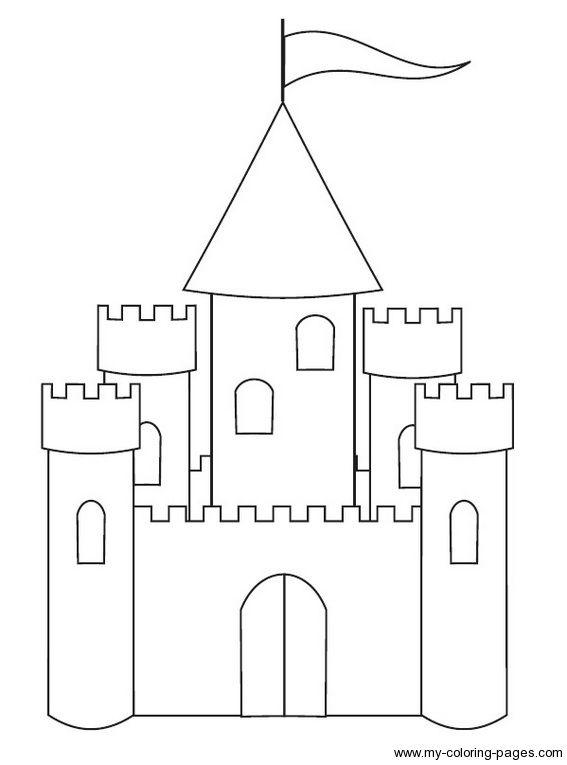 castle big  felt  patterns templates designs  pinterest
