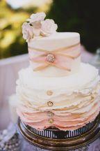 Southern Belle inspired #wedding cake ~ Kelsea Holder Photography, Zest it Up Events | bellethemagazine.com