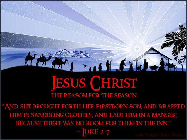 luke 2 7 kjv christmas pinterest