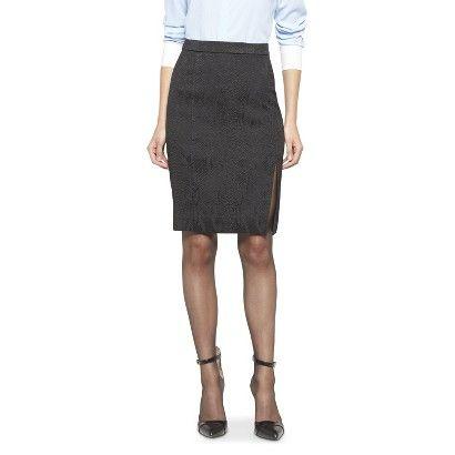 Altuzarra for Target Jacquard Pencil Skirt- Black