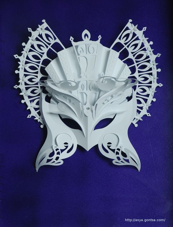 Paper Masks by Asya Gontsa