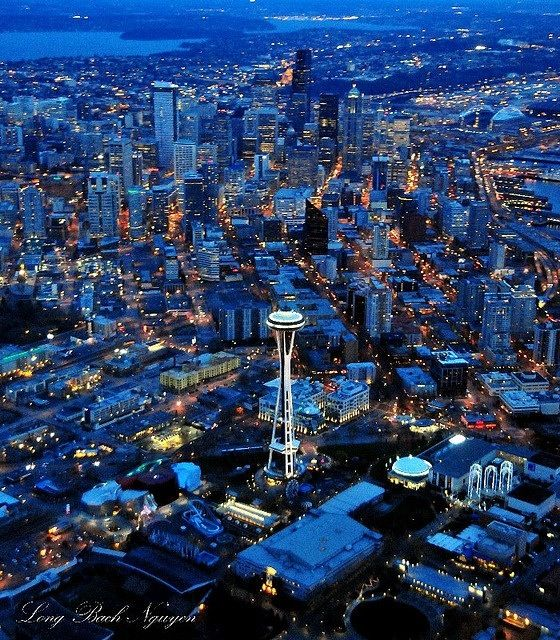 Wanna move to Seattle soo bad....love the rain, sun, water , mountain and the green....