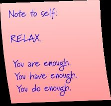 POST IT NOTE wisdom.....