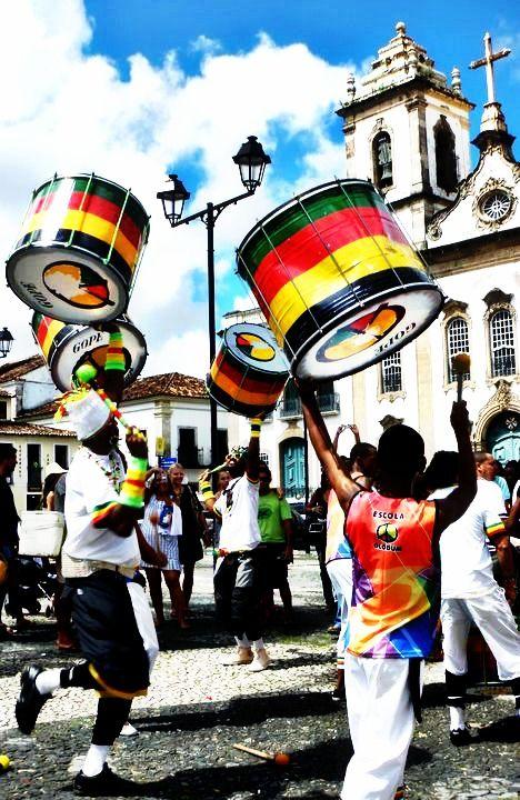 Salvador de Bahia - Brasil - Grupo OLODUM