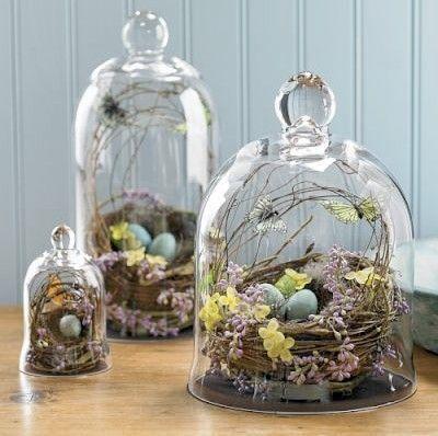 Bird Nest Centerpieces on earlyivy.com