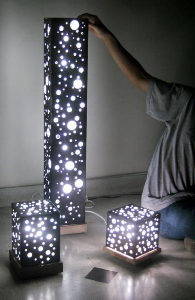 These lamps are awesome and totally DIY-able.