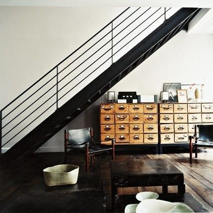 Picture via Ruth Burts Interiors / the industrial cottage