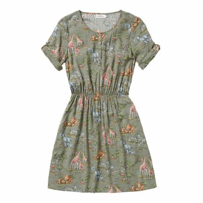 Safari Short Sleeved Dress £42 (was £60) from Cath Kidston