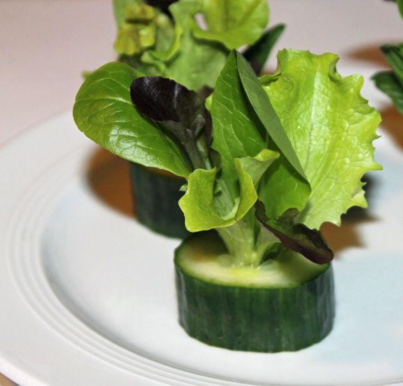 Salatsträußchen