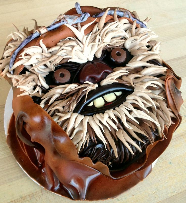 Ewok birthday cake! In case you didn't already hate Ewoks.