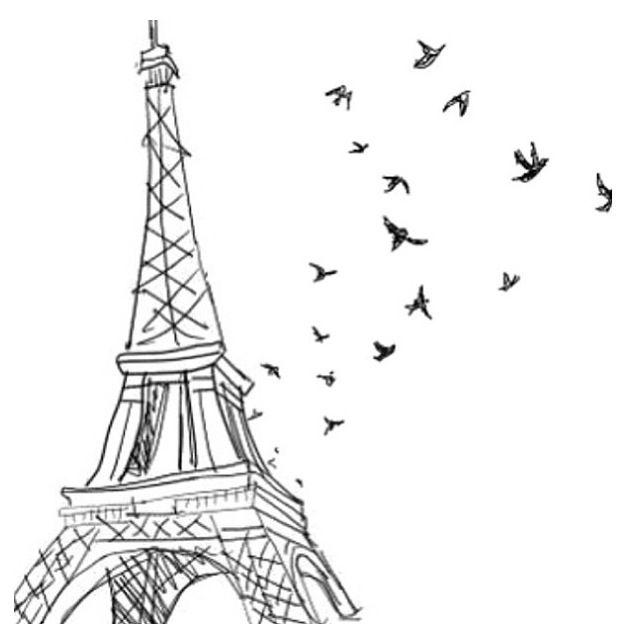 Resultado de imagen de paris dibujo
